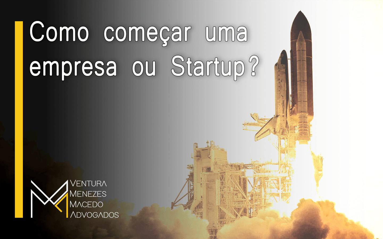 Como começar uma Empresa ou Startup?