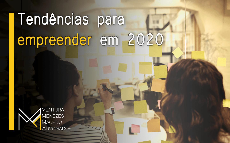 Tendências para empreender em 2020