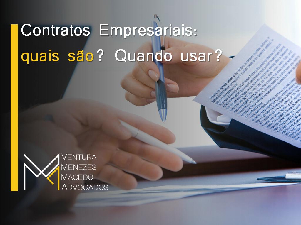Contratos Empresariais: quais são? Quando usar?